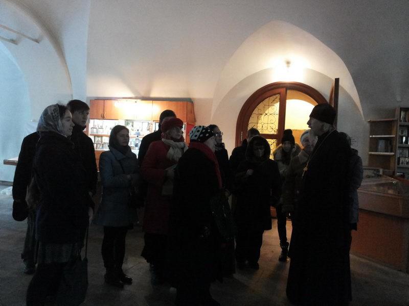 Экскурсия по Храму 30.11.2013