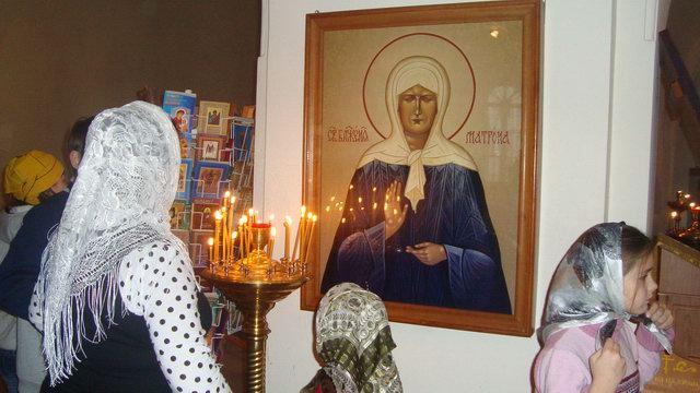 Приют Ховрино на богослужении