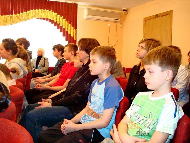 Посещение детского приюта «Ховрино»