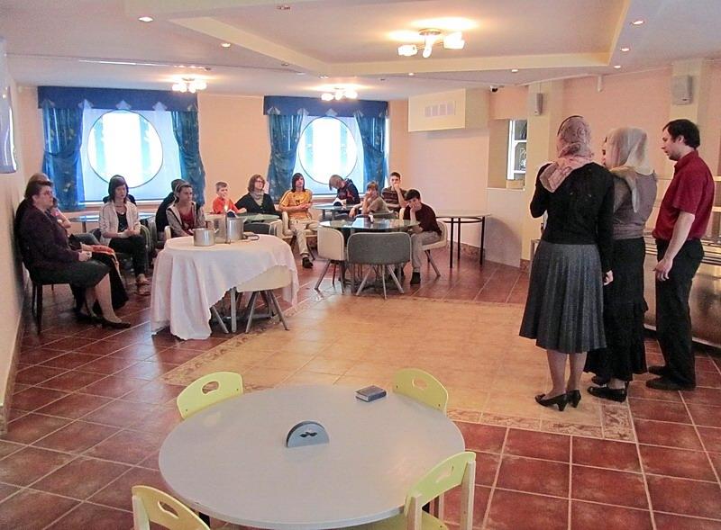 Социальный приют Ховрино - Пасха 2012