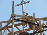 Водружение нового главного креста