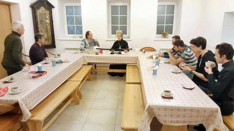Встреча представителей Спортивного Общества «Центр боевых искусств Синоби «Катеда»