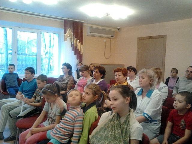 Встреча в детском приюте «Ховрино»
