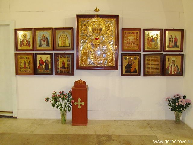Престол Свт. Николая Чудотворца