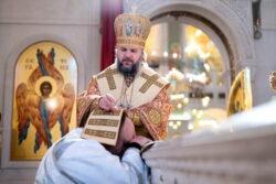 Диаконская хиротония иподиакона Максима Сереженко